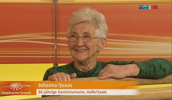 Hanya decak kagum ketika melihat kehebatan nenek berusia 86 tahun bernama johanna quass ini
